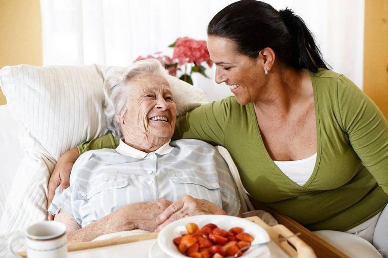 Помощь лежачим пенсионерам